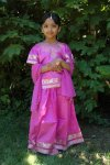 Pattu Langa / Half Saree / Pattu Pavada for Kids