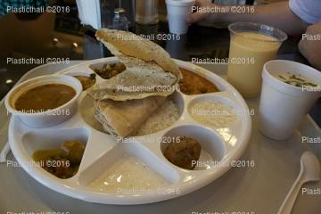 Wholesale compartment thali / plates for restaurant / catering