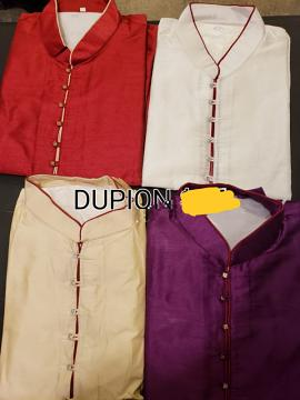Dupion Kurta Pajama for Men