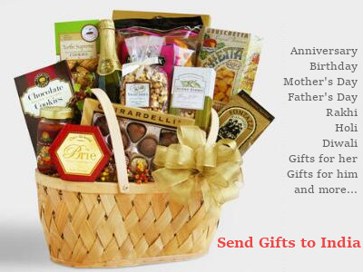 Send Gifts to India from USA, Canada, UK or Australia