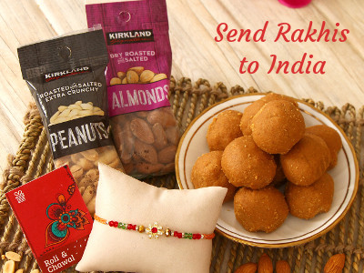 Send Rakhis & Gifts to India from USA, Free Shipping