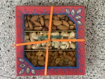 Mixed Dry Fruits Gift Box for Diwali