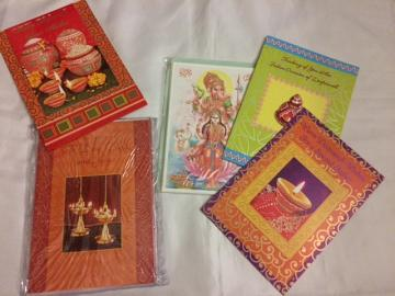 Wholesale Diwali Greeting Cards, Assorted Design 10 Pcs