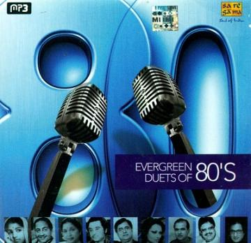 Evergreen Duets of 80's - MP3 CD