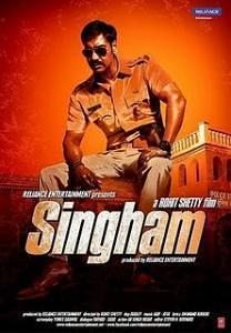 Singham - Bollywood Action DVD with subtitles