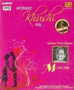 Andaaz Khushi Ka By Mohd. Rafi MP3 CD
