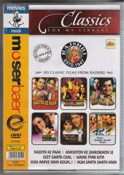 Rajshri Collection 6 Dvd Set (Super Hit Hindi Movies)