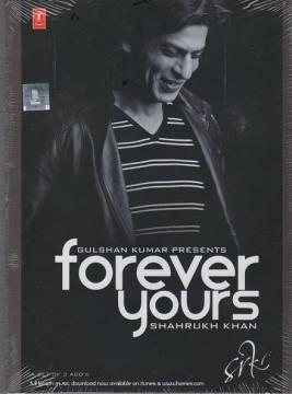 Forever Yours, Shahrukh Khan, 3 Audio CD Set SRK Hindi Movies