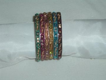 Lac Indian Bangles / Kada From India For Adults, Size 2/8 XL