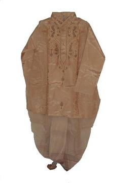 Bengali Style Ready-made Dhoti Kurta For Young Adults