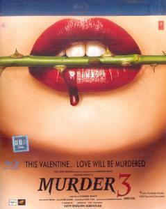 Murder 3: Emraan Hasmi Blu-Ray DVD with english subtitles