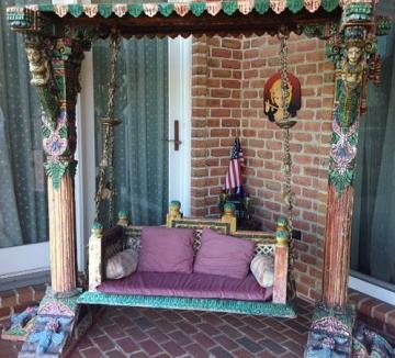Traditional Indian Jhoola / Swing for Home
