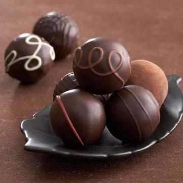 Dark Chocolate Truffles Gift Box (12 pc.)