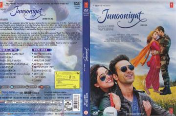 Junooniyat Hindi Film DVD