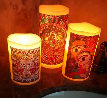 Set of 3 Led Flameless Candles(Color Changing)