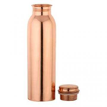 Joint Free Leak Proof 100% Pure Copper Water Bottle (850 Ml)
