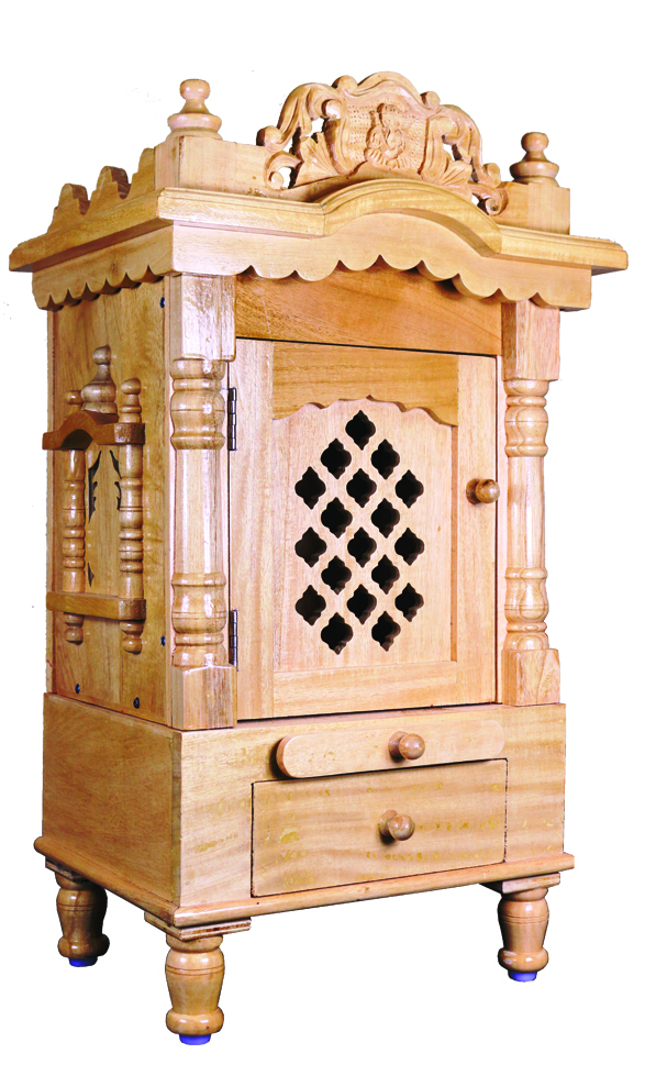 Small Handmade Savan Wooden Temple W