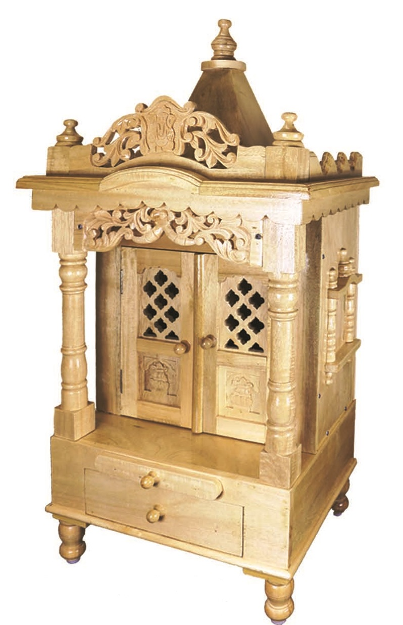Small Hadmade Artistic Wooden Temple