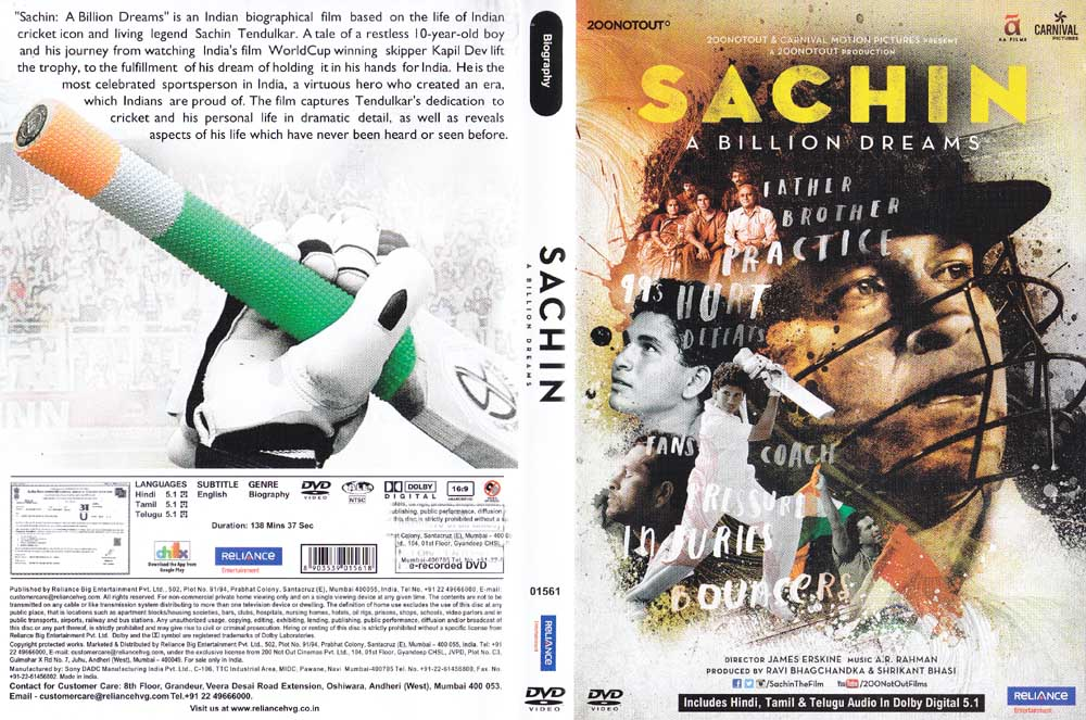 full hindi movie Sachin - A Billion Dreams download