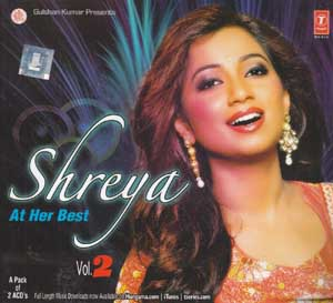 SHREYA - At Her Best (VOl 2) Set of 2 Music CD
