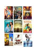 Latest 2014 or 2015 Hindi Movies DVD, 5 DVD Gift Pack