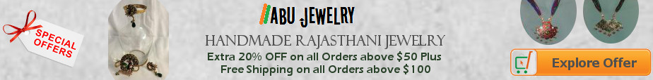 Traditional Rajasthani Indian Jewelry on Sale