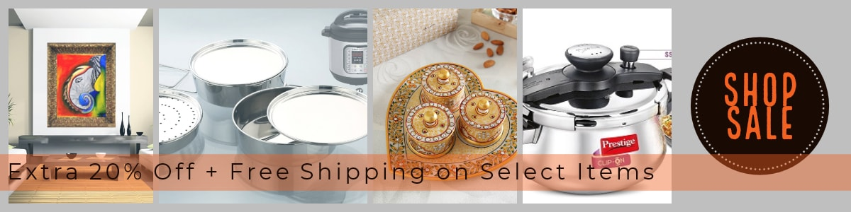 Everything your Home & Kitchen Needs @ Extra 20% Off