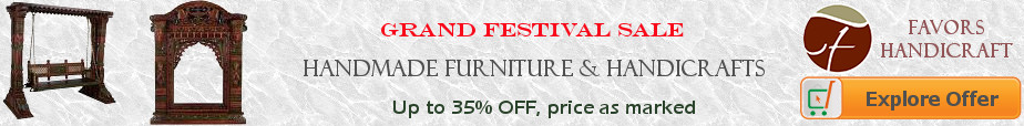 Festival Sale - All Furnitire & Handicraft from Favors Handicraft