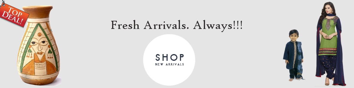 Fresh Arrivals on Clothes, Gifts, Jewelry, Furniture & more