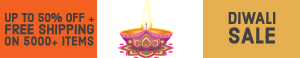 Hot Diwali Deals - Up to 50% OFF on Select Items @ Checkout