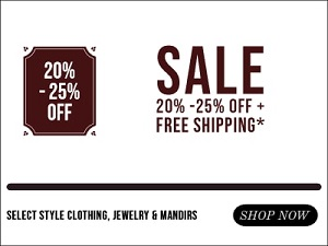 Extra 20% to 25% Off on Select Items