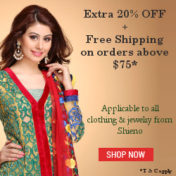 Discount & Free Shipping on clothing & jewelry from Shieno