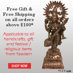 Free Shipping on Handicrafts & Gifts from Yaadein